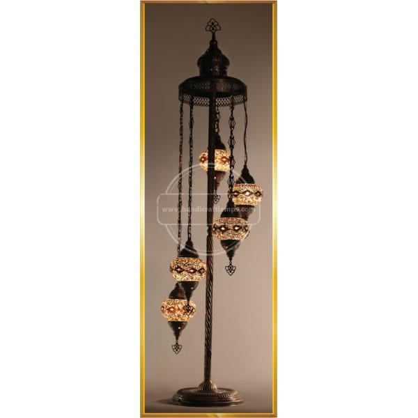 Turkish Table Lamp Handmade Mosaic Glass Desk Table Lamp Moroccon Tiffany Style Bedside Night Light for Livingroom HND HANDICRAFT