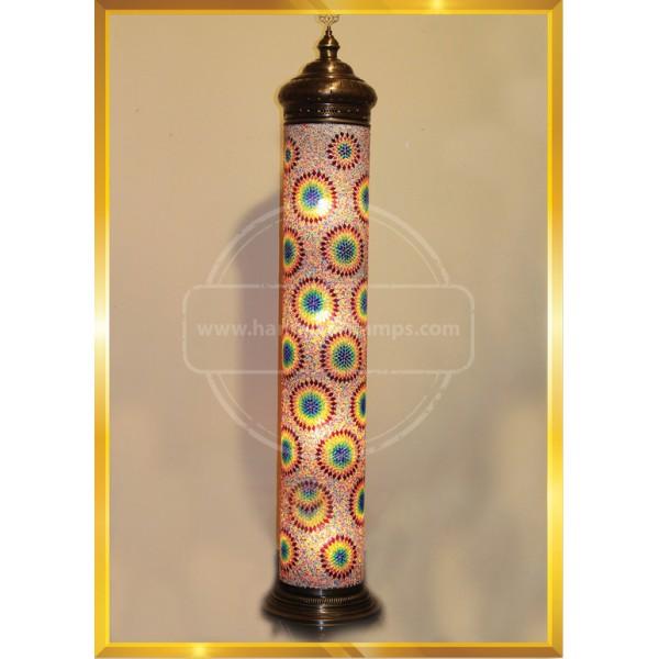 25X190 MINARET COLUMN LAMP HND HANDICRAFT