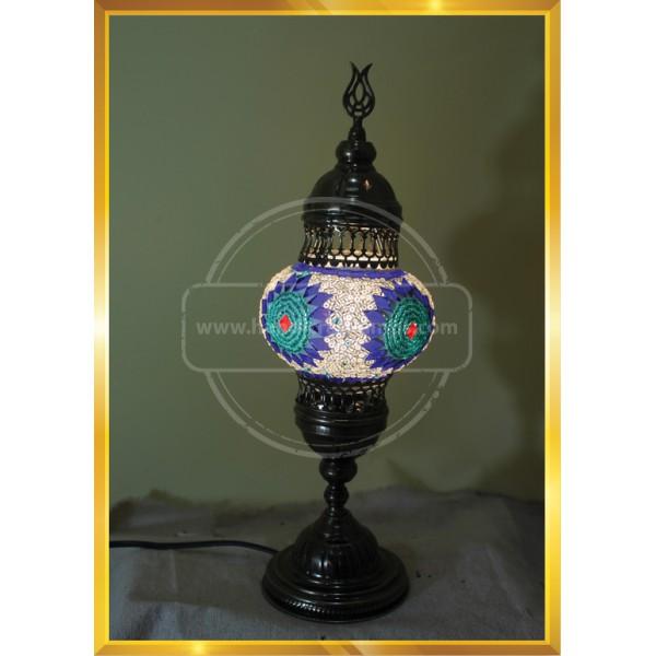 Mosaic Table Lamp Marrakech Handmade Turkish Mosaic Glass Lamp 3 Globes Candelabra Moroccan Tiffany Style Lamp Decorative Night Light HND HANDICRAFT
