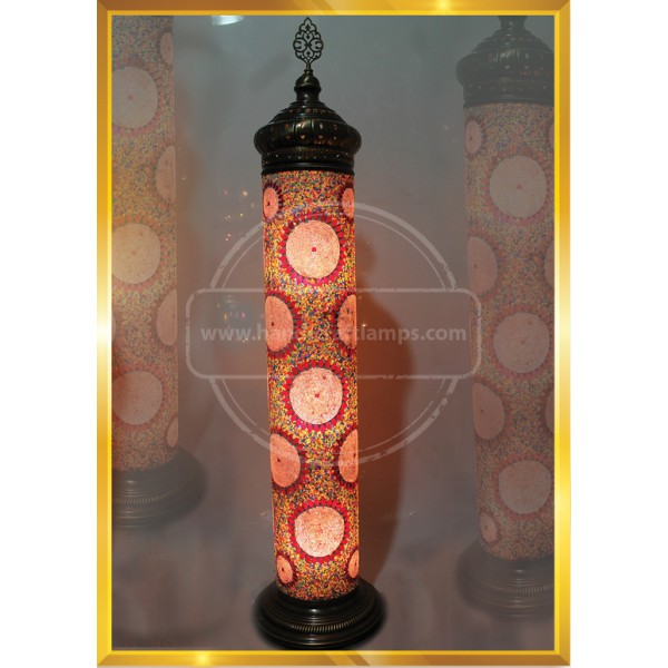 20X140 MINARET COLUMN LAMP HND HANDICRAFT