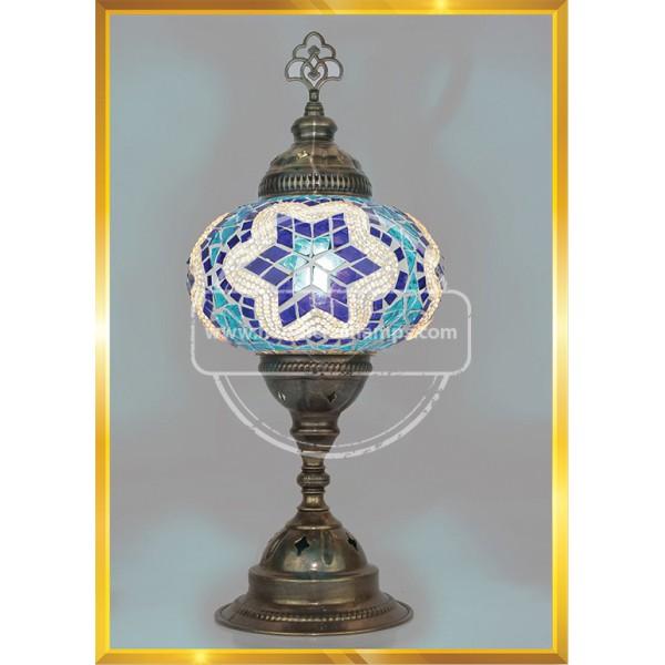 Turkish Moroccan Mosaic Glass Table Lamp HND HANDICRAFT
