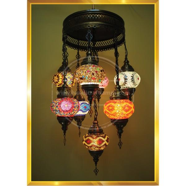 9 LU SET Lamp HND HANDICRAFT
