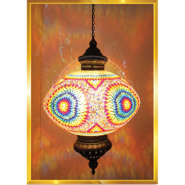 60 cm Mosaic Floor Lights HND HANDICRAFT