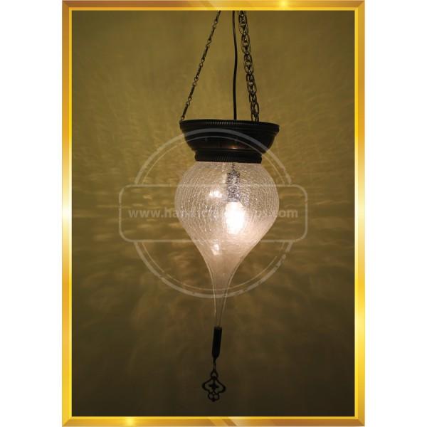 Cracking Drop Turkish Lamp HND HANDICRAFT