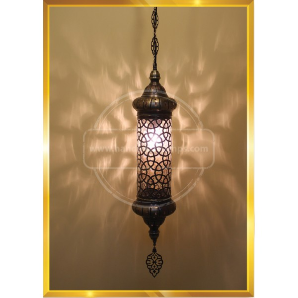 20 CM Blowing Anatolian pattern Lamp HND HANDICRAFT
