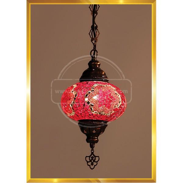 NO5 Fligree Mosaic Pendant Lamp HND HANDICRAFT