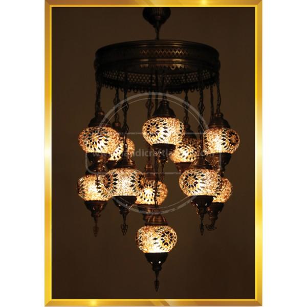 11 Lİ  Closed Floor Lamp HND HANDICRAFT