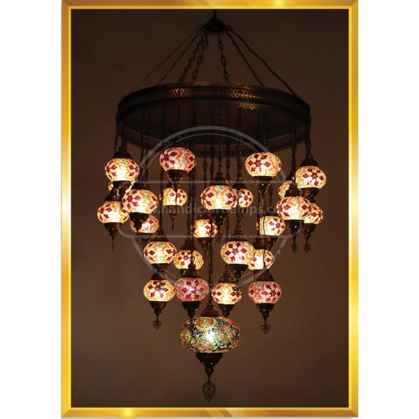 25 Lİ SET NO2 Closed Special Turkish Lamp HND HANDICRAFT