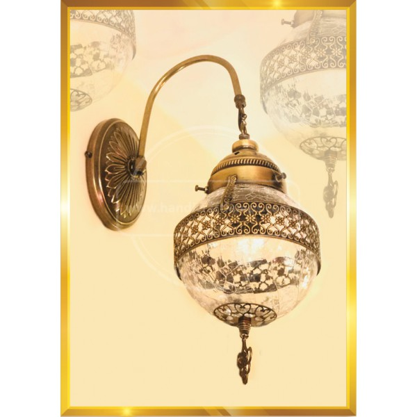 Sconce for wall floor HND HANDICRAFT
