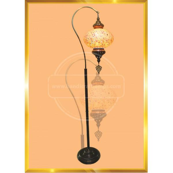 Moroccan Tiffany Style Handmade Mosaic Table Desk Bedside Night Swan Neck Lamp Light Lampshade HND HANDICRAFT