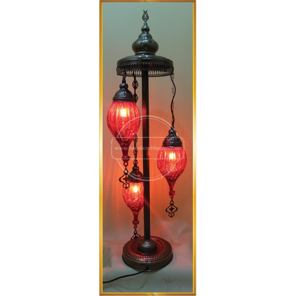 3 LÜ Mosaic Chandelier, Filigree Copper Mosaic,Mosaic Lamp,Turkish Lamp,Moroccan Lantern HND HANDICRAFT