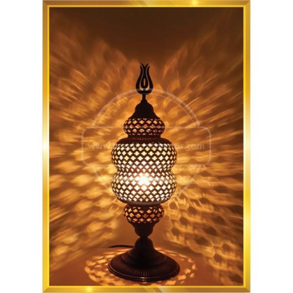 turkish mosaic floor lamp double lamp HND HANDICRAFT