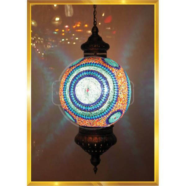 40 LIK Ball Mosaic Turkish Lights HND HANDICRAFT