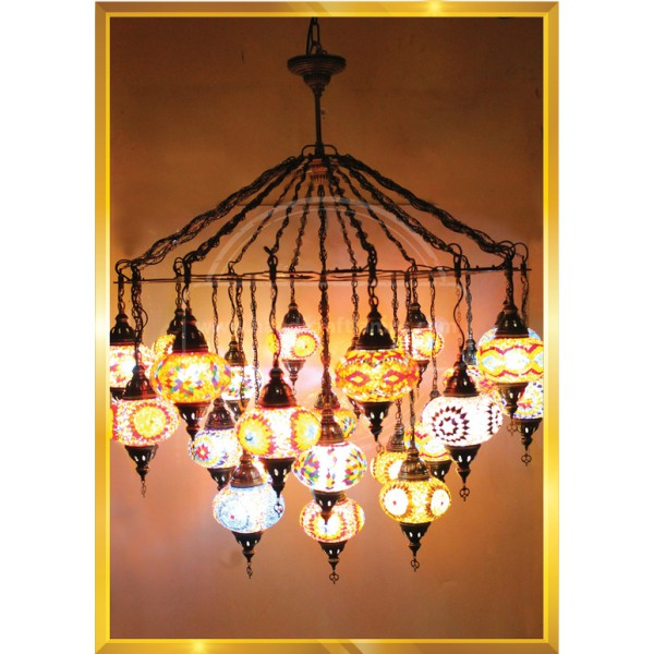 27 Lİ Laser Cut Lamps HND HANDICRAFT