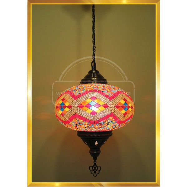 NO5 ceiling Mosaic Floor HND HANDICRAFT
