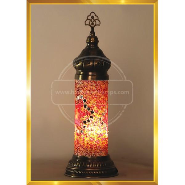 Handmade Turkish Lamp, Vintage Bedroom Decor Table Lamp, Unique Night Light Lamps for Living Room, Room Decor for Teen Girls Boys, Bedside Lamp, Night Light for Kids, Tiffany Lamp  HND HANDICRAFT