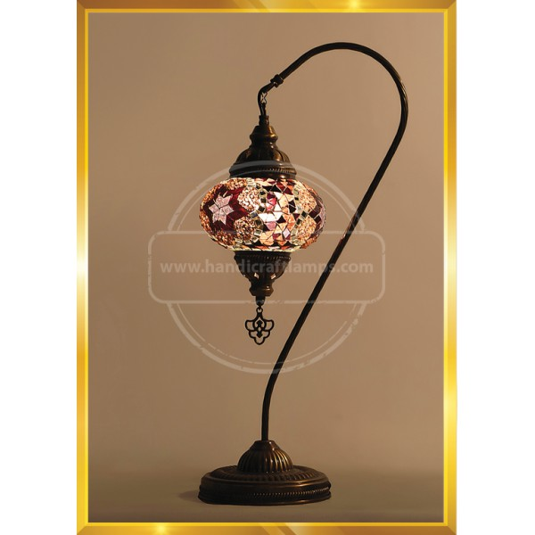 Handmade Mosaic Turkish Lamp, Vintage Bedroom Decor Table Lamp, Unique Night Light Lamps for Living Room, Room Decor for Teen Girls Boys, Bedside Lamp, Night Light, Tiffany Lamp  HND HANDICRAFT