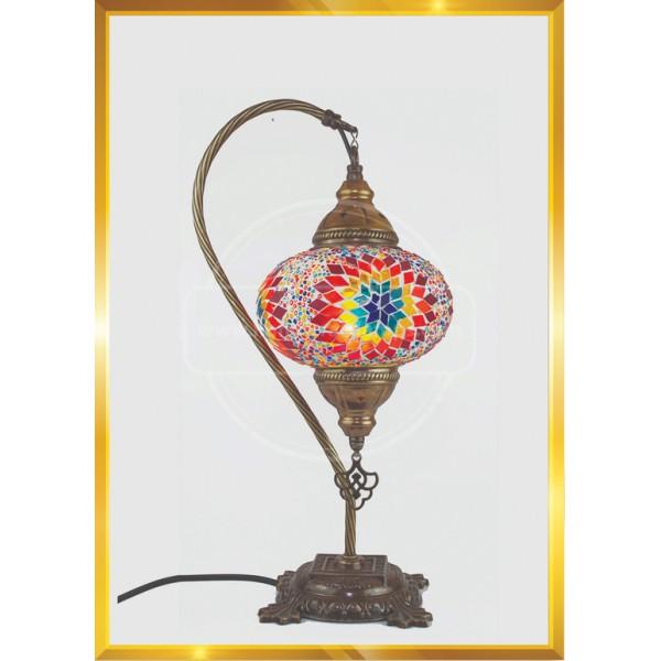 Handmade Mosaic Turkish Lamp, Vintage Bedroom Decor Table Lamp, Unique Night Light Lamps for Living Room, Room Decor for Teen Girls Boys, Bedside Lamp, Night Light for Kids, Tiffany Lamp  Number 3 HND HANDICRAFT