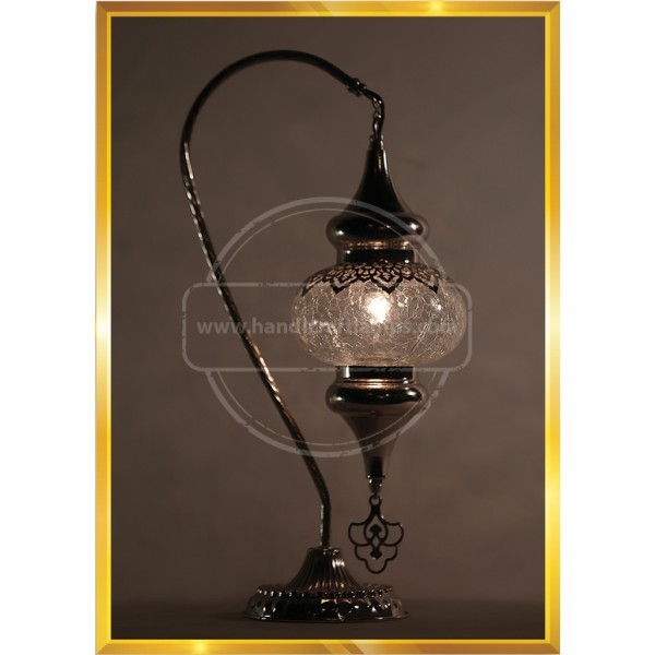 Turkish blowing glass lamp HND HANDICRAFT