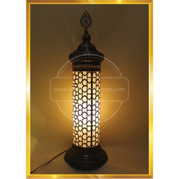 Cupper Turkish mosaic lamp HND HANDICRAFT