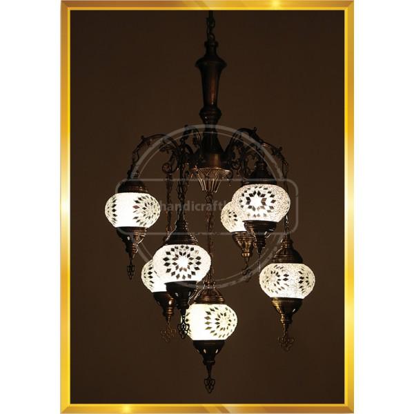 7 Lİ Turkish Lamp SET NO2 HND HANDICRAFT