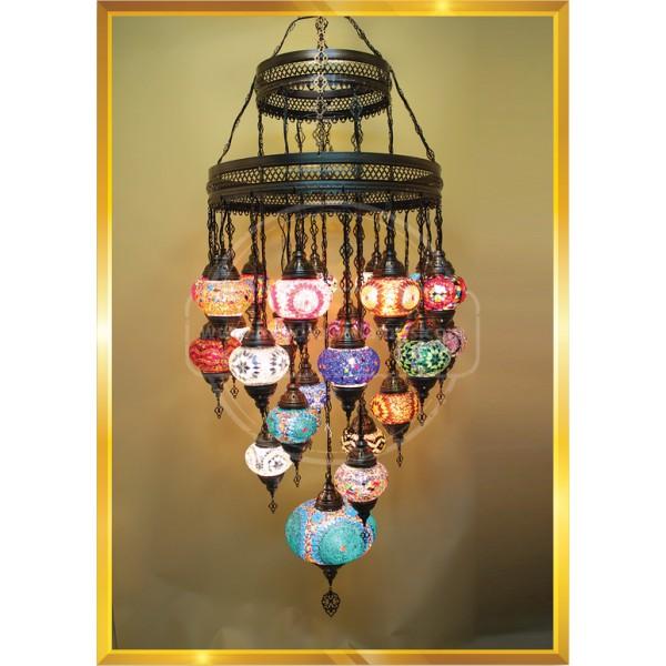 Double floor Turkish Lamps HND HANDICRAFT