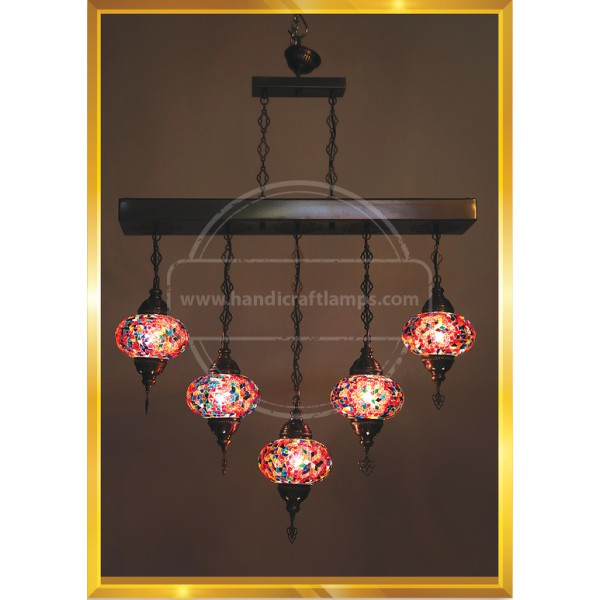 5 Lİ Mosaic lamp HND HANDICRAFT