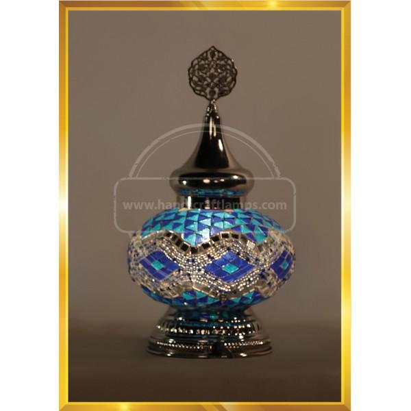 Night Mosaic Lamp HND HANDICRAFT