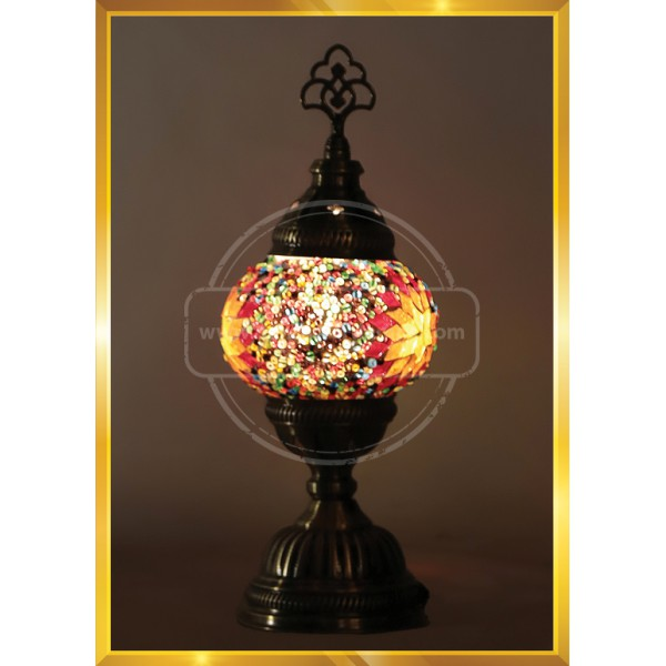 Handmade Mosaic Turkish Lamp, Vintage Bedroom Decor Table Lamp, Unique Night Light Lamps for Living Room, Room Decor for Teen Girls Boys, Bedside Lamp, Night Light HND HANDICRAFT