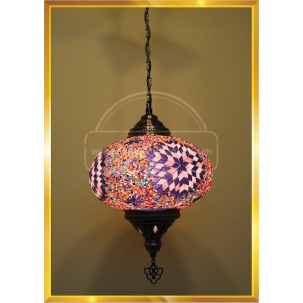 NO5 ceiling Mosaic Lamp HND HANDICRAFT