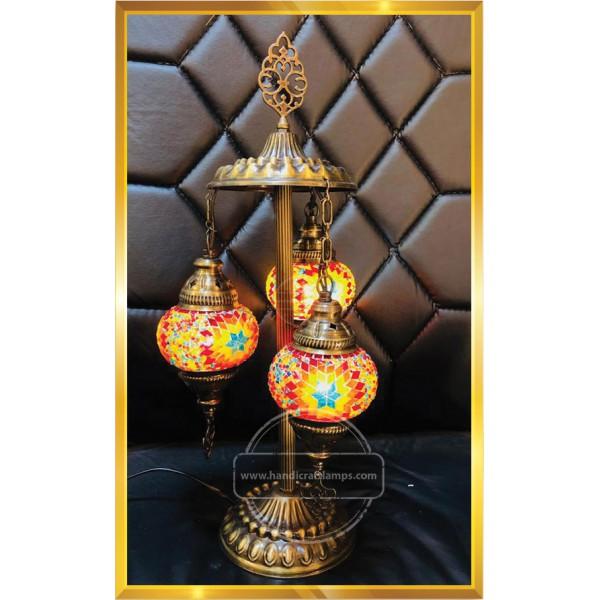Table Floor Lamps 3 pcs HND HANDICRAFT