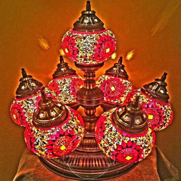 Daisy Kit Turkish Lamp HND HANDICRAFT
