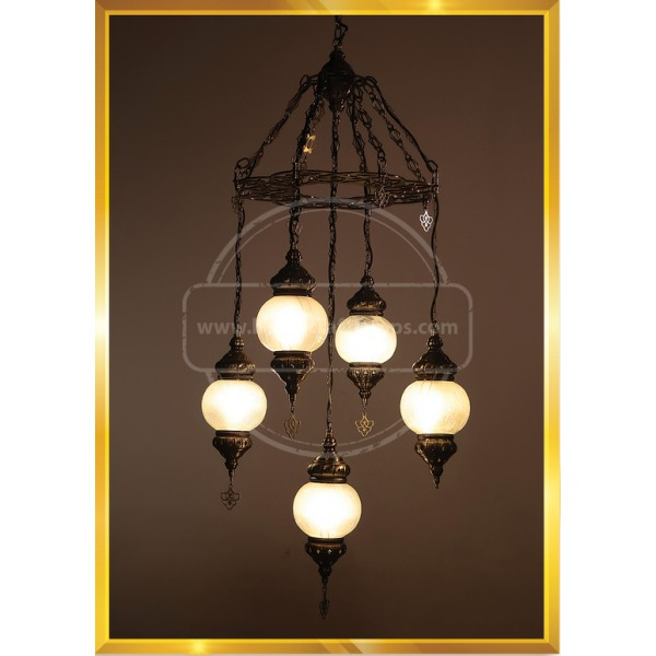 Handmade, Authentic, Mosaic Chandelier, Tiffany Style Glass, Moroccan/Ottoman Style Night Lights HND HANDICRAFT