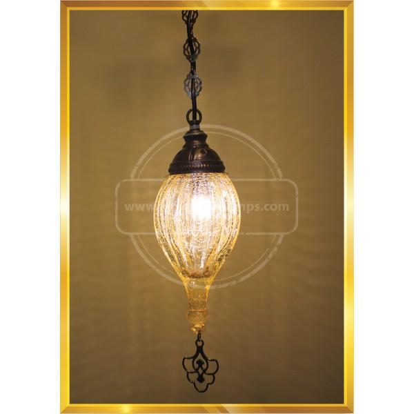 12 CM Pull Glass lamp HND HANDICRAFT