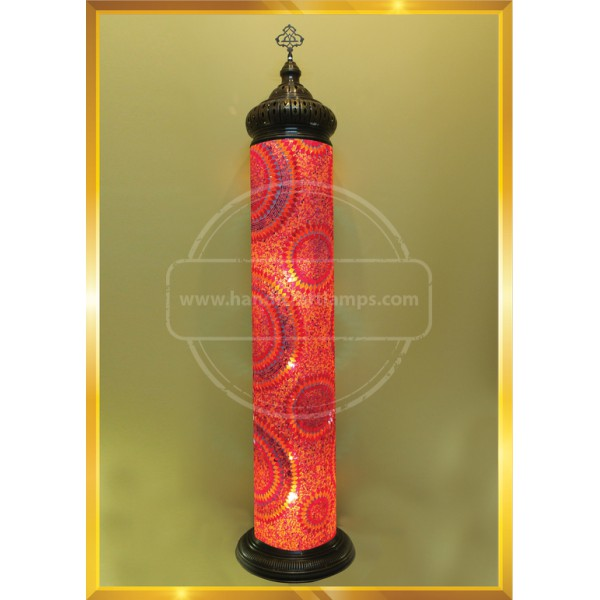 25X190 MINARET COLUMN LAMP HND HANDICRAFT