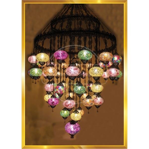 51 Lİ Filigree Special Lamp HND HANDICRAFT
