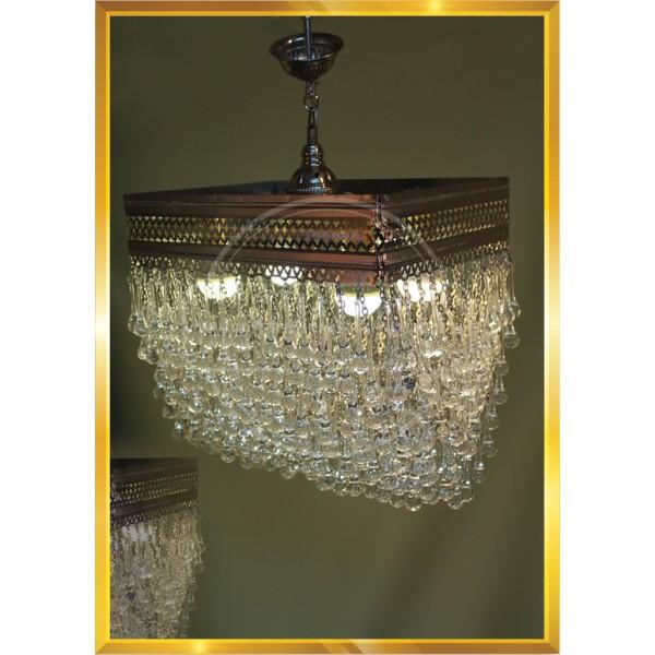 40 cm Melting Drop Art Deco Lamp HND HANDICRAFT