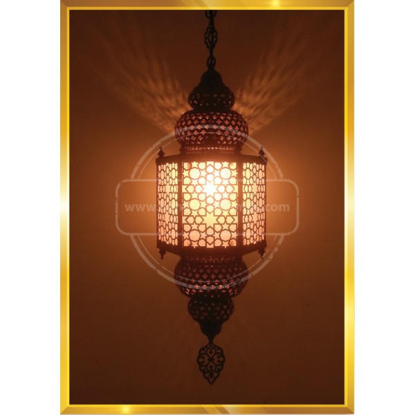Turkish Moroccan Mosaic Swag Plug in Pendant Ceiling Hanging Light  HND HANDICRAFT