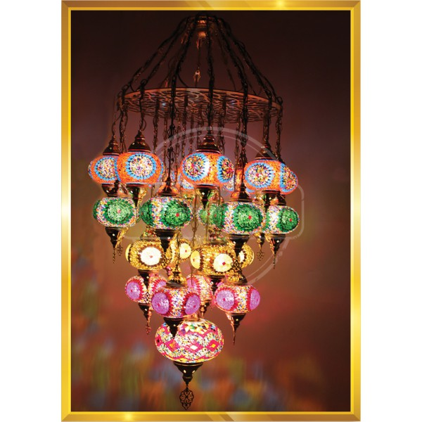 25 Lİ Laser Cut Home Decoration Lamp HND HANDICRAFT