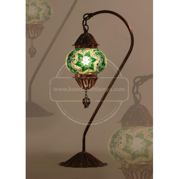 Turkish Mosaic Filigree Lamp Bedroom Lamp HND HANDICRAFT