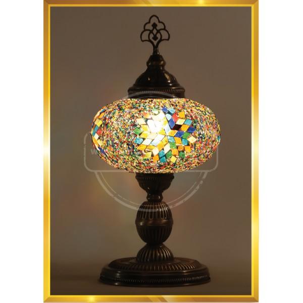 Bedside Lamp, Night Light for Kids, Tiffany Lamp HND HANDICRAFT