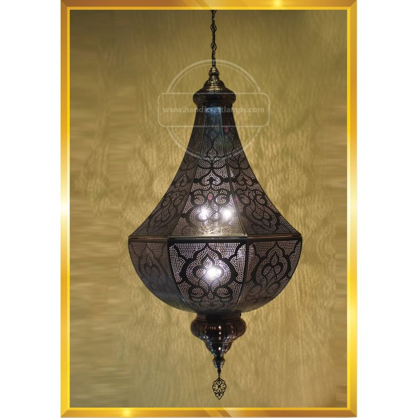 Handmade, Tiffany Style Glass, Turkish/Moroccan Lantern Ottoman Style Mosaic Floor Lamp HND HANDICRAFT